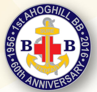Boys brigade first ahoghill bb anniversary badge thecheapjerseys Choice Image
